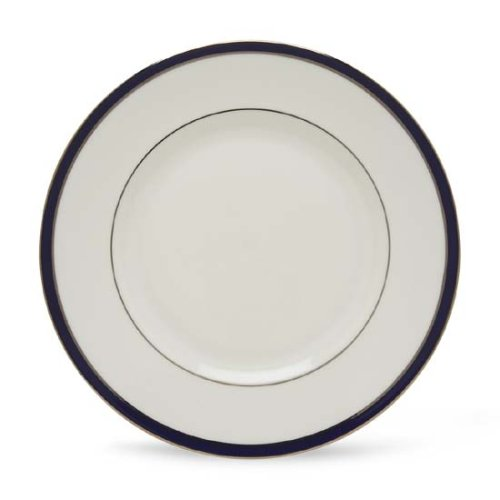 Lenox Federal Cobalt Platinum Bone China Dinner Plate ()