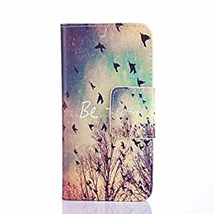 YULIN Compatible Graphic Special Design Full Body Cases for iPhone 5S