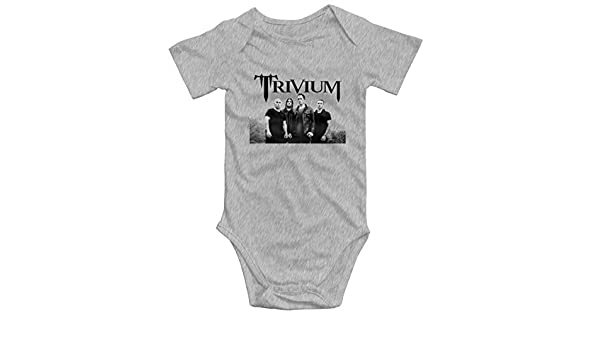 Smooffly Baby Boys Girls Trivium Long Sleeve Rompers Playsuit