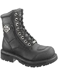 Harley-Davidson Womens Sydney Motorcycle Boot, Black, D87005