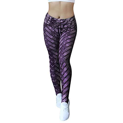 Yoga Femmes Amuster Pantalons Violet Hanche De Tissés Fitness Pantalon La Imprimés Sport Skinny Hanches Pour wnw0rtFqf