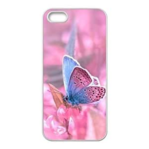 Butterfly DIY Case Cover for iPhone 5,5S LMc-91057 at LaiMc