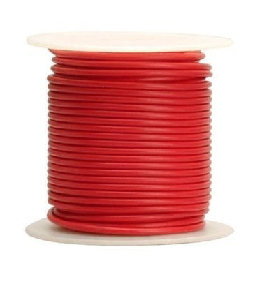 8 AWG Tinned Marine Primary Wire, Red, 100 Feet (8 Awg Primary Wire)