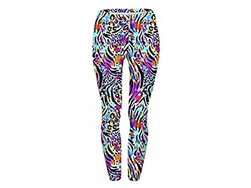 Print Animal lady fantasia Leg Leggings Leg 114 Alsino girl ragazza donna Jegging Bunt sexy per 121 Leggings Marihuana pantaloni leggings H4Uwv1