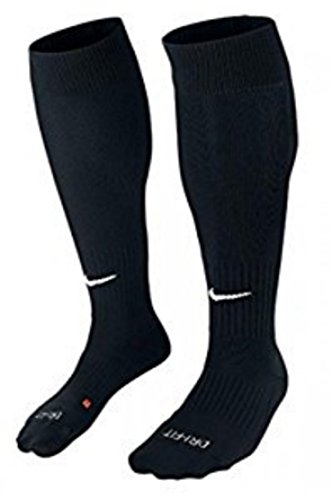 NIKE Academy Cushioned Over The Calf Classic Black Soccer Socks-ADULT MEDIUM by NIKE