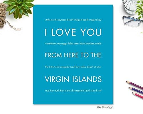 Virgin Islands Travel Art Print