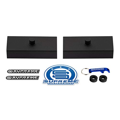 "Supreme Suspensions - Rear Leveling Kit for 1983-2012 Ford Ranger 1"" Rear Lift Blocks 2WD 4WD"