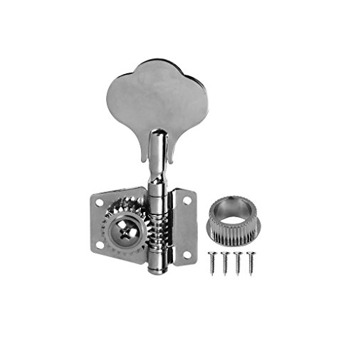 IKN 4R1L Chrome Bass Tuning Pegs Machine Heads Open Bass Tuners by IKN (Image #3)