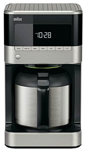 Braun KF7155BK Thermal Carafe Coffeemaker, Black