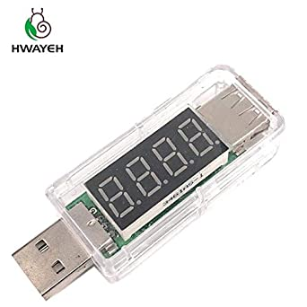 Electrical Instruments Voltmeter Smart Electronics Digital Usb Mobile Power Charging Current Voltage Tester Meter Usb Charger Doctor Voltmeter Ammeter High Resilience Current Meters