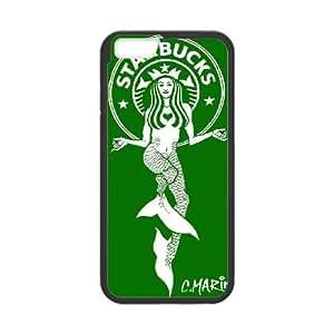 Starbucks Starbucks iPhone 6 Plus 5.5 Inch Cell Phone Case Black Exquisite gift (SA_637513)
