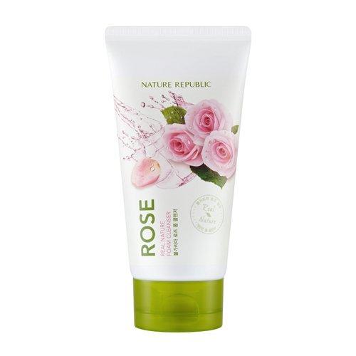 Nature-Republic-Real-Nature-Foam-Cleanser-4-Rose