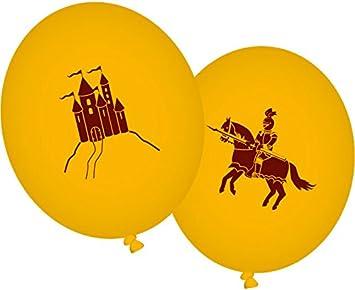 8 Globos * Dragón y Caballero * para fiestas y cumpleaños ...