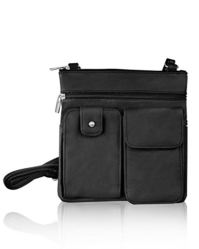 Crossbody Mini Leather Purse Cowhide Organizer Travel Bag 7wq5EtxPn