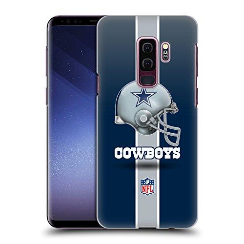 Official NFL Helmet Dallas Cowboys Logo Hard Back Case for Samsung Galaxy S9+ / S9 ()