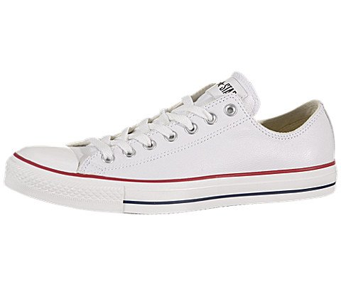 Converse Men's Chuck Taylor Leather Low Top Sneaker Optical