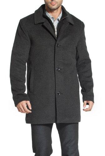 Wool Blend Car Coat - 7