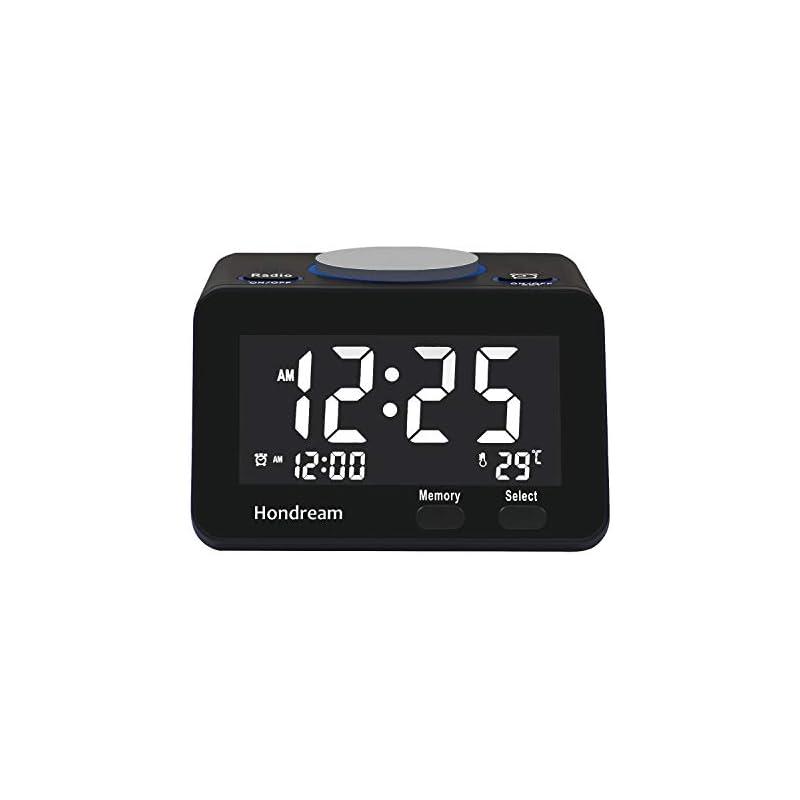Hondream Digital Alarm Clock Radio with