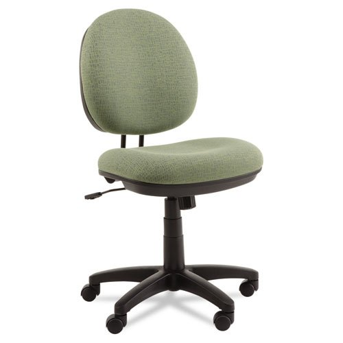 Alera IN4871 Interval Series Swivel/Tilt Task Chair, Tone-On-Tone Fabric, Parrot Green