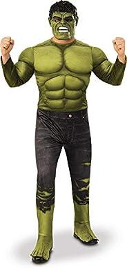 Rubie's Men's Marvel: Avengers 4 Men's Deluxe Hulk (2) Costume and Mask A