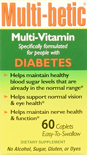 Multi-Betic Diabetes Multi Vitamin and Mineral 24