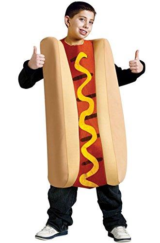 [Mememall Fashion Hallowiener Hot Dog Funny Child Costume] (Hot Dog Baby Costumes)