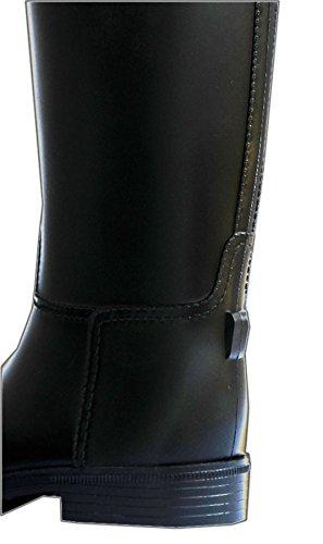 Stivali da equitazione da donna/uomo in pvc | stivali da equitazione | stivali da equitazione con sporenhalterung