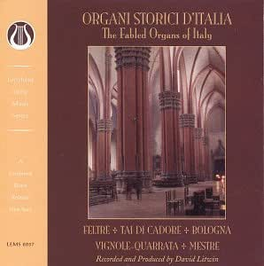 Organi Storici d'Italia (The Fabled Organs of Italy)