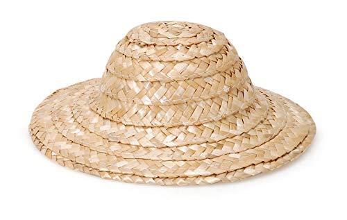 Round Top Straw Hat 8