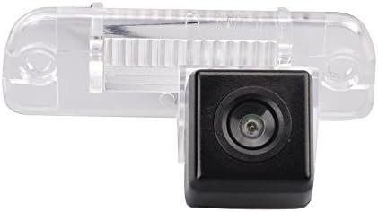 Navinio car Backup Camera, Waterproof Rear-View License Plate Car Rear Backup Camera for MB R S Class W251 W164 R300 ML R63 GL350 ML350 X164 W164 S500