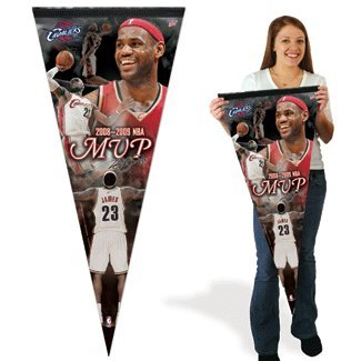 LeBron James MVP HUGE premium pennant 17x40'' by WinCraft