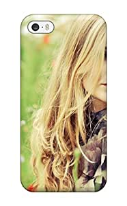 Fashionable Iphone 5/5s Case Cover For Beautiful Girls With Flowers Protective Case