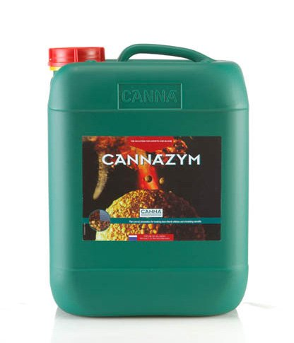 Canna Canna 10 Liter - Cannazym, Enzymatic Additive for Grow and Bloom by CANNA