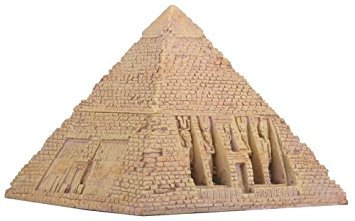 - Egyptian Sandstone Pyramid Box Collectible Egypt Decoration Container
