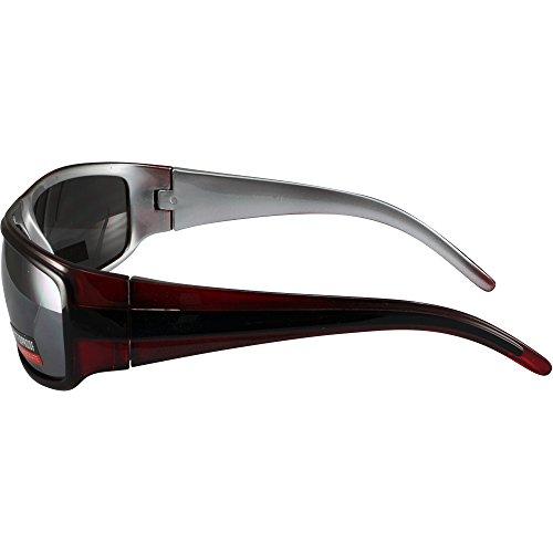 de objectif Rationaliser images Cristal Flash Vision soleil Moto Rouge Lunettes Global Miroir pIqCS