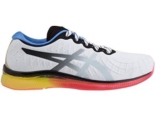 ASICS Women's Gel-Quantum Infinity Running Shoes, 8M, White/Blue Coast