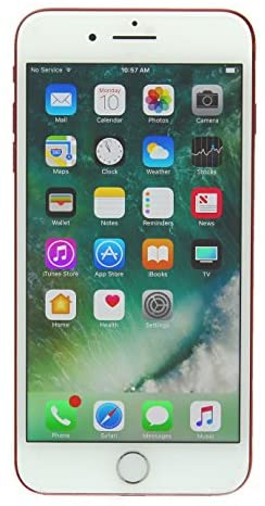Apple iPhone 7 Plus, 128GB, Red - For Verizon (Renewed)