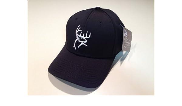 913b4b25e15 Brand New Buck Commander Black A-flex Fitted Hat Cap - E3 Ranch Style - Hot!!!