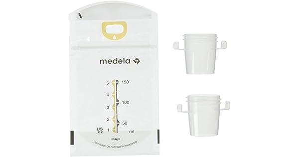 Amazon.com: Absorbe y guarda bolsas de leche materna Medela ...