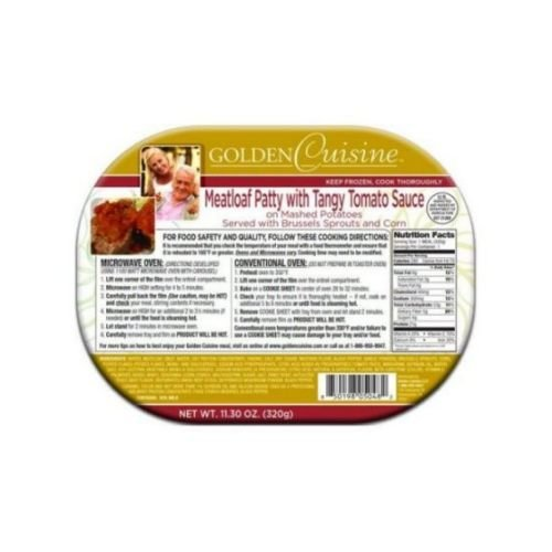 Conagra Entree Golden Cuisine Meatloaf Patty with Gravy, 12.9 Ounce -- 20 per case. by Golden Gourmet