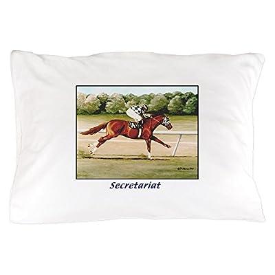 """CafePress - Secretariat - Standard Size Pillow Case, 20""""x30"""" Pillow Cover, Unique Pillow Slip"""