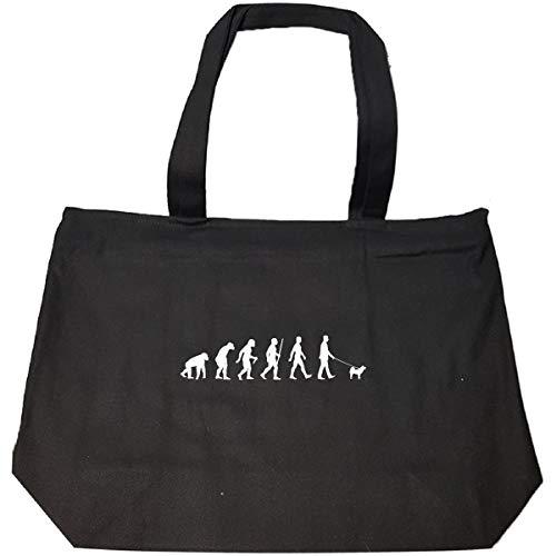 Evolution Greenland Dog Walker - Tote Bag With Zip