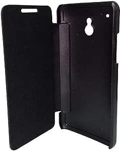 Flip Cover Case for HTC M4(601 E) ONE Mini (Black)