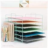 American Crafts 375798 Paper Rack Crate Paper