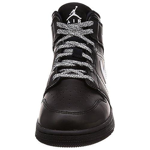 online retailer f8886 f7239 Nike Air Jordan 1 Mid (GS), Chaussures de Basketball Garçon ...