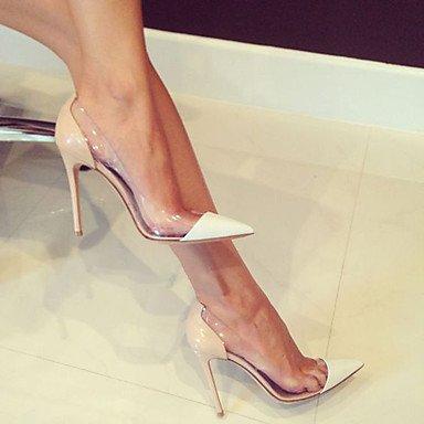 a Serata tacchi Da Donna Lvyuan ufficio Cn36 Pvc Uk4 club Formale Lavoro ggx Us6 Eu36 Nude Festa Shoes vernice E Stiletto q8wqA57n