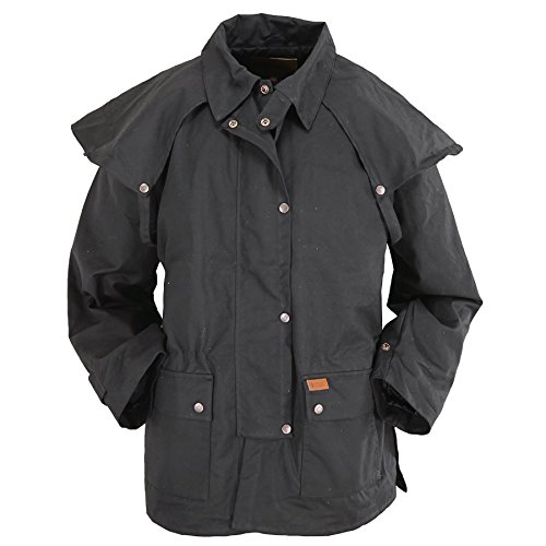 Outback Trading Company Bush Ranger Jacket, Black, XL