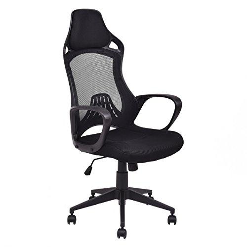 410SeYJi5JL - Giantex Executive Racing Chair High Back Swivel Gaming Office Chair Desk Task