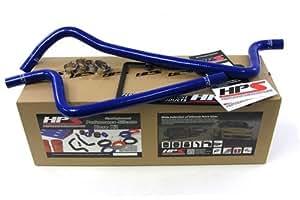 97-01 Jeep Wrangler TJ 4.0L LHD HPS Blue High Temp Reinforced Silicone Heater Hose Kit 98 99 00