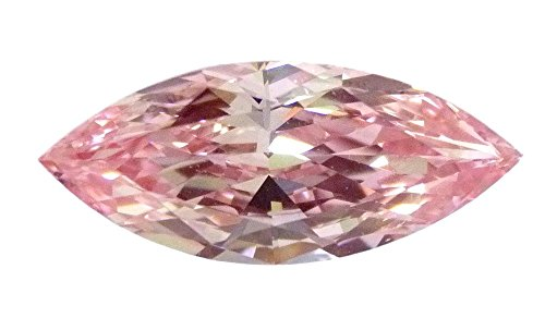 e Pink loose Natural diamond VS1 Marquise Cut GIA certified HPHT (Fancy Marquise Cut Diamond)